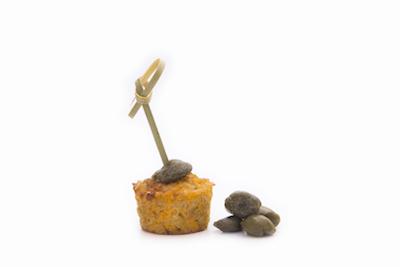 Kapris – tonhalas quinoamuffin