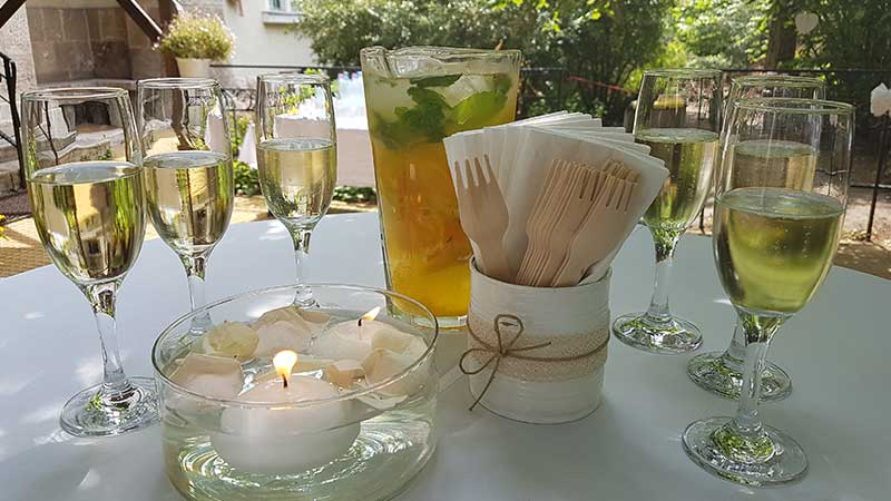 Esküvői állófogadás