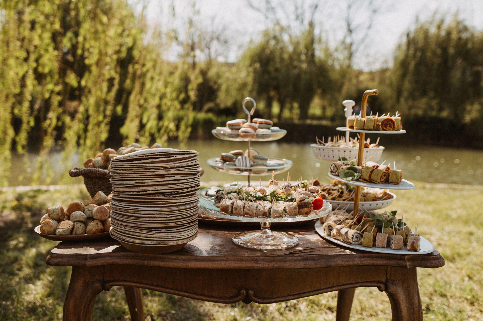 Four Bites esküvői falatkák