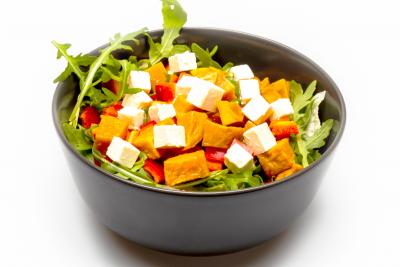 Fetás édesburgonyás saláta