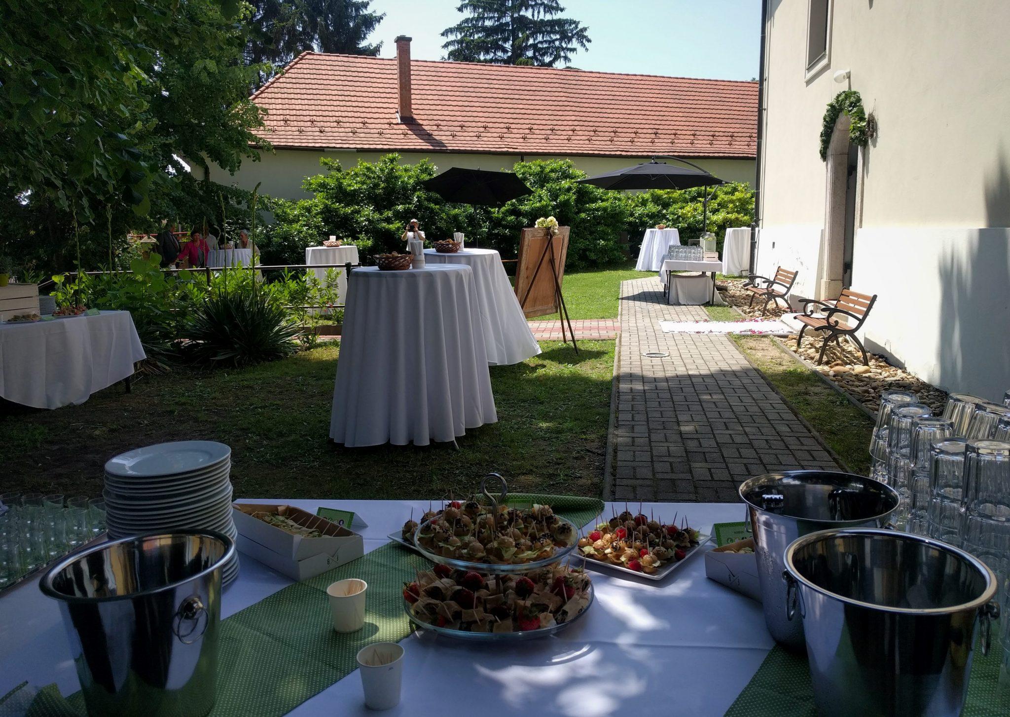 Esküvői catering