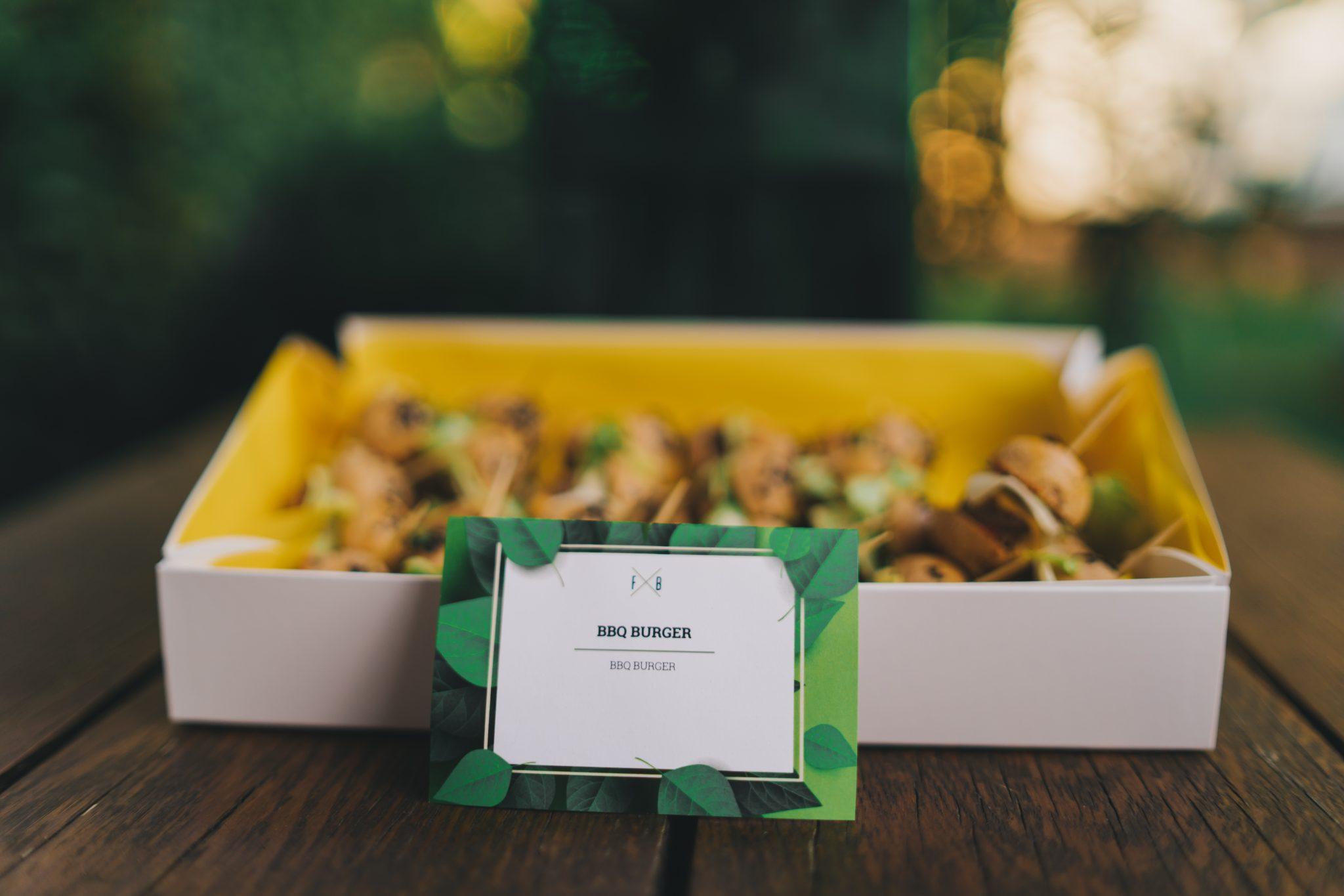 Esküvői catering miniburger